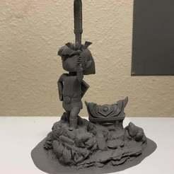 front.jpg Télécharger fichier STL gratuit Lien Diorama • Design pour imprimante 3D, njeff