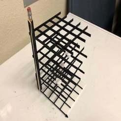 Descargar diseños 3D gratis 4x4x4 3D Tic Tac Toe / Noughts and Crosses, njeff