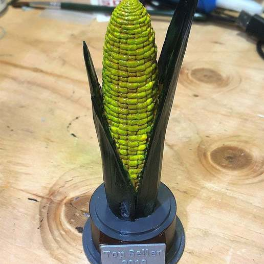 Download free 3D printing templates Popcorn Top Seller Award, njeff