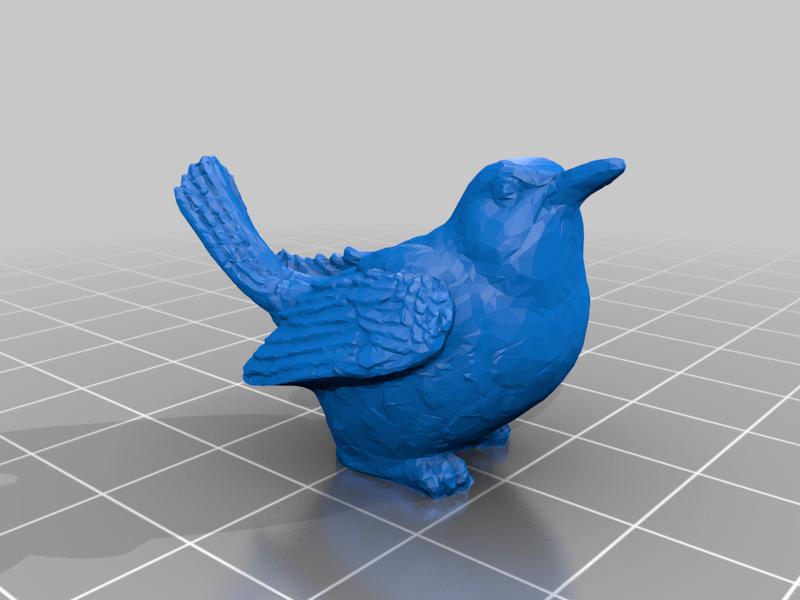 bird_1.png Télécharger fichier STL gratuit Jetons d'oiseaux à l'envergure des ailes • Objet à imprimer en 3D, njeff