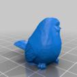 bird_2.png Télécharger fichier STL gratuit Jetons d'oiseaux à l'envergure des ailes • Objet à imprimer en 3D, njeff