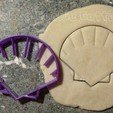 3D print model Seashell Cookie Cutters, FatDogCookieCutters