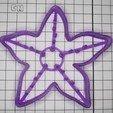 3D print model Starfish Cookie Cutter, FatDogCookieCutters