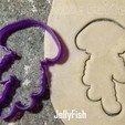 3D printing model Jellyfish Cookie Cutter, FatDogCookieCutters
