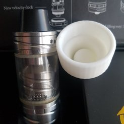 Download free STL files Vaporizer/Atomizer Mobile Dust Cap Cover, kasinatorhh