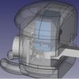 Download free 3D printer files Ultrasound Turning Spider Head (Rear-Mount), kasinatorhh