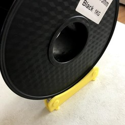 Free 3D printer files Spool Holder / Stand for 3D Printer, 608zz Bearing, onderxyilmaz