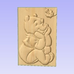 Descargar STL gratis Winnie-the-Pooh, Account-Closed