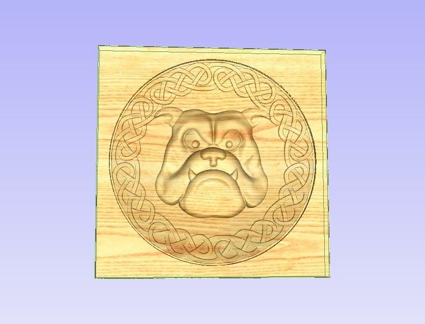 Dogg.jpg Télécharger fichier STL gratuit Bouledogue • Plan à imprimer en 3D, Account-Closed