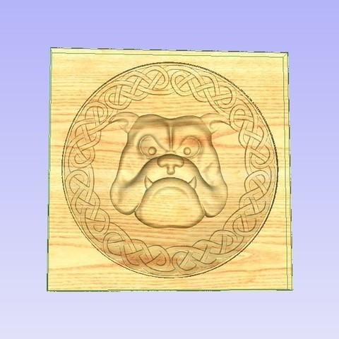 Download free 3D printing designs Bulldog, Account-Closed