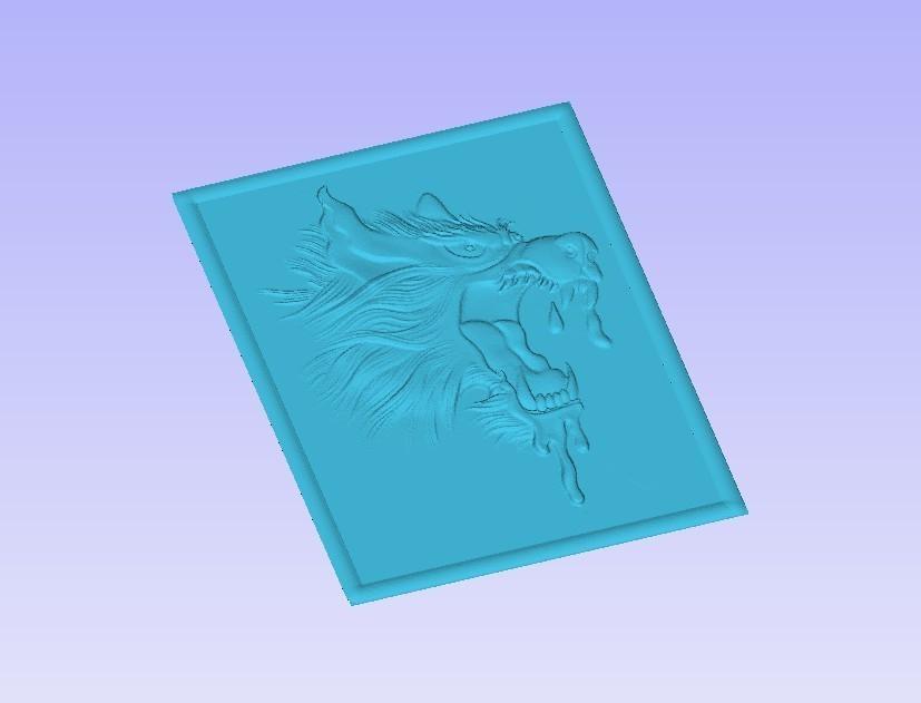Wolf2.jpg Télécharger fichier STL gratuit Loup en colère • Modèle à imprimer en 3D, Account-Closed