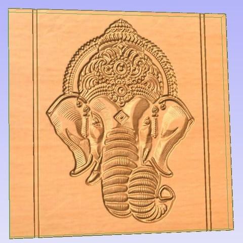 Télécharger plan imprimante 3D gatuit Tête d'éléphant, Account-Closed