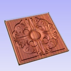 Descargar modelo 3D gratis Panel Decorativo, Account-Closed
