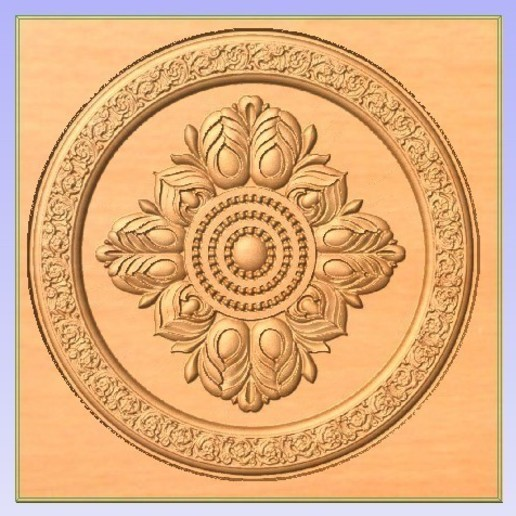 Download free 3D printing templates Circular Relief ・ Cults