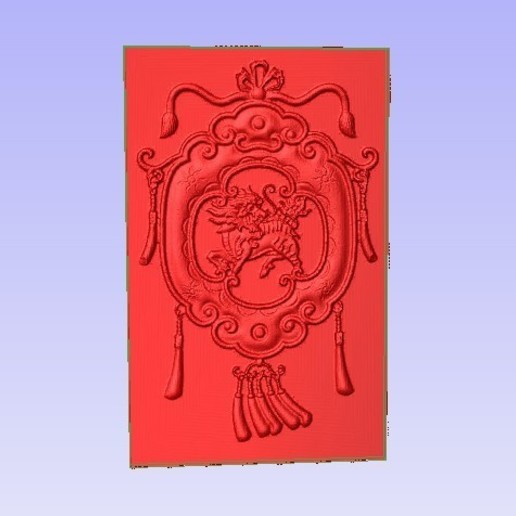 Chin0.jpg Download free STL file Chinese Decoration • 3D printing design, Account-Closed