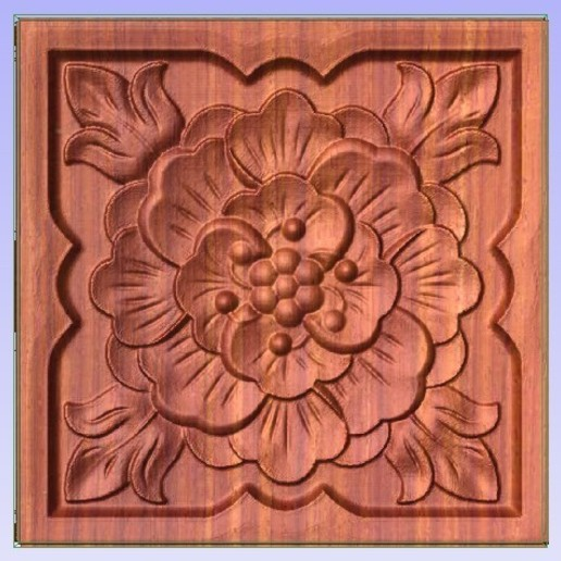 Decor.jpg Download free STL file Decor Panel • 3D printer model, Account-Closed