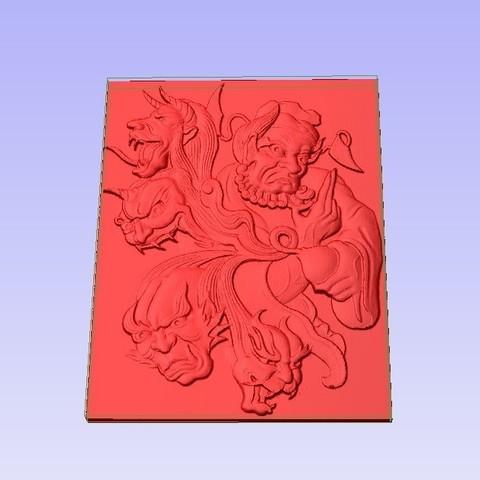 Demons2.jpg Télécharger fichier STL gratuit Démons • Objet pour imprimante 3D, Account-Closed