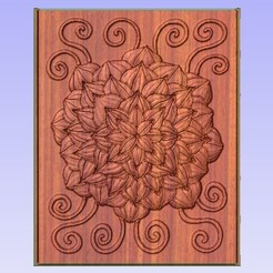 Man.jpg Télécharger fichier STL gratuit Mandala feuillu • Design pour impression 3D, Account-Closed