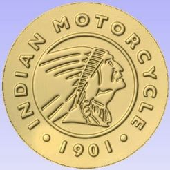Indian.jpg Télécharger fichier STL gratuit Motos indiennes • Objet à imprimer en 3D, Account-Closed