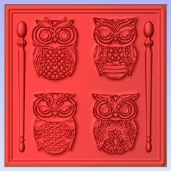 Owl.jpg Download free STL file Owls • 3D printer model, Account-Closed