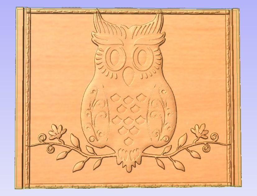 1Owl.jpg Download free STL file Owl • 3D printer design, Account-Closed
