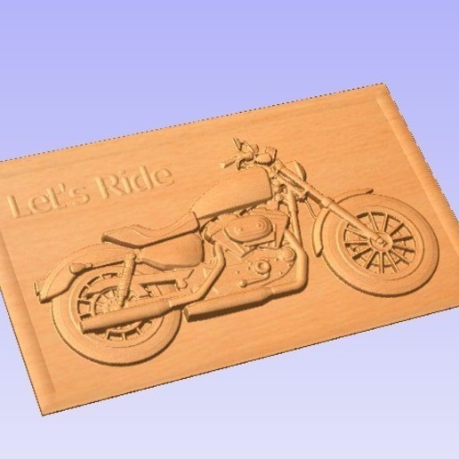 Rider.jpg Download free STL file Motorcycle • 3D printing object, Account-Closed