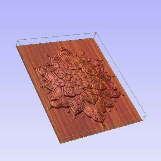 Mand1.jpg Télécharger fichier STL gratuit Mandala 3D • Design pour imprimante 3D, Account-Closed