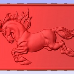 Horse.jpg Download free STL file Horse • 3D printable template, Account-Closed