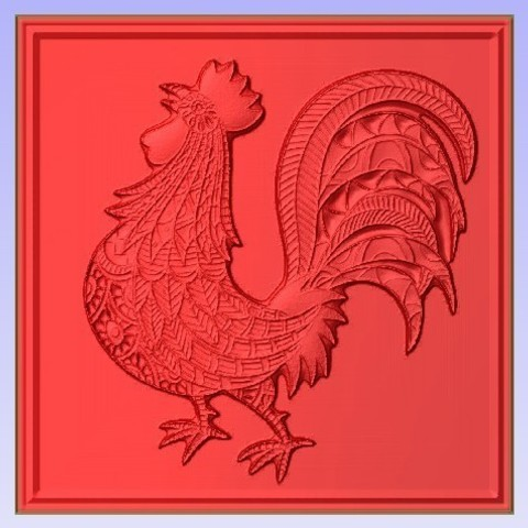 Chic.jpg Download free STL file Rooster • 3D print template, Account-Closed
