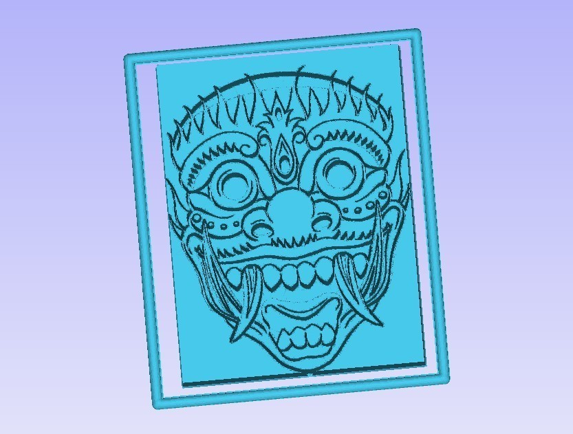 mask.jpg Télécharger fichier STL gratuit Masque Japonais • Modèle pour imprimante 3D, Account-Closed