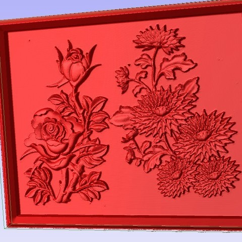 Download free 3D printing templates Flowers, Account-Closed
