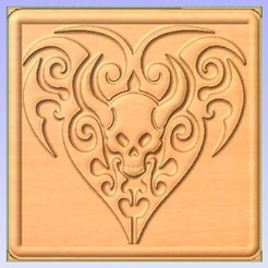 Horns.jpg Télécharger fichier STL gratuit Crâne cornu • Design pour impression 3D, Account-Closed
