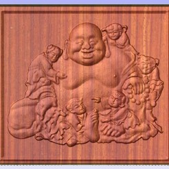 Kids.jpg Download free STL file Budda with kids • 3D print object, Account-Closed