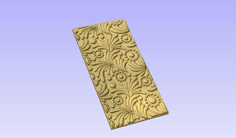 Panel2.jpg Download free STL file Decor Panel • 3D printer model, Account-Closed