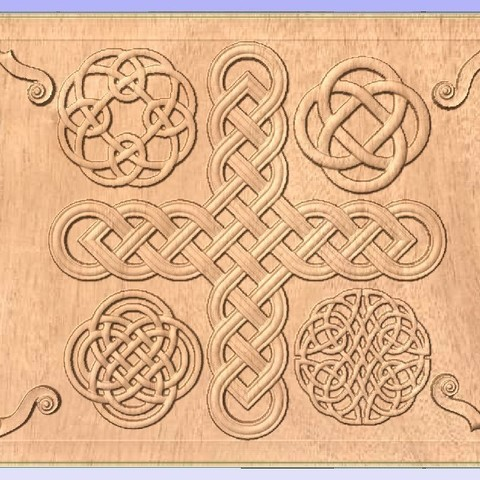 Download free STL file Celtic Relief Pattern, Account-Closed