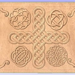 Free STL Celtic Relief Pattern, ungerk99