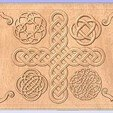 Celtic.jpg Download free STL file Celtic Relief Pattern • 3D printable template, Account-Closed