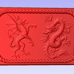 Download free 3D printer designs Dragon Duel, Account-Closed