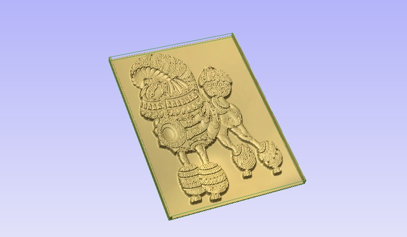p2.jpg Download free STL file Poodle • 3D printer template, Account-Closed