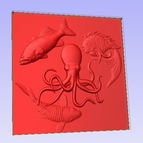Fish.jpg Download free STL file Fish • Template to 3D print, Account-Closed