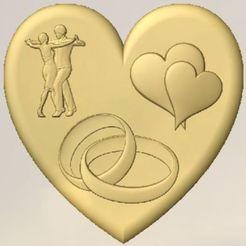 Heart.jpg Download free STL file Lover's Heart • 3D printer design, Account-Closed