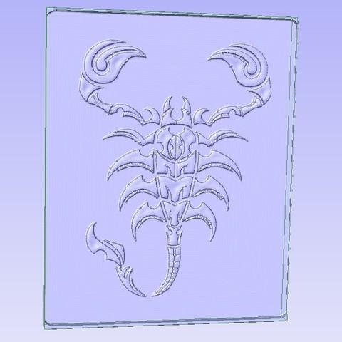 Download free STL file Scorpion, ungerk99
