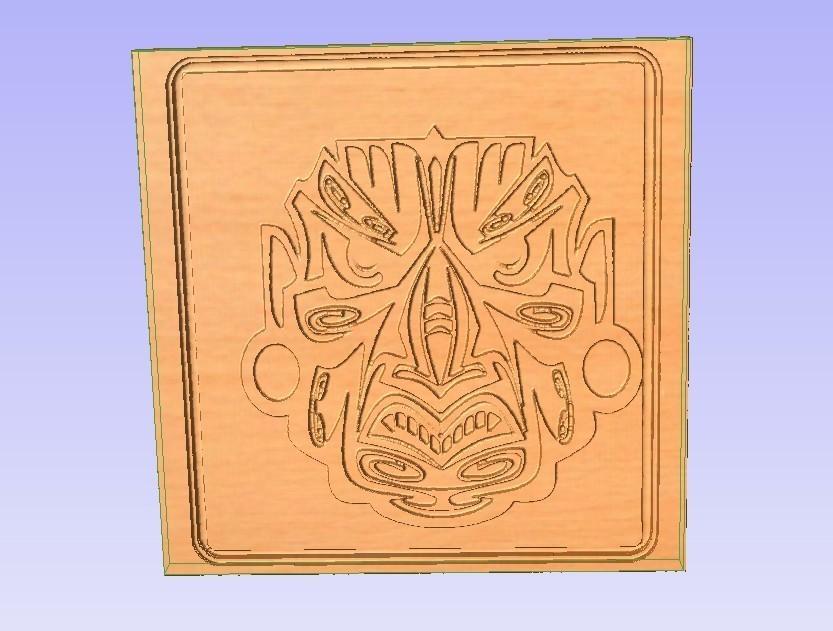 Mask.jpg Télécharger fichier STL gratuit Masque • Objet pour impression 3D, Account-Closed