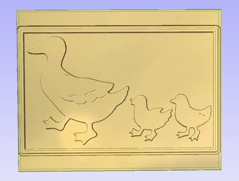 Ducks.jpg Télécharger fichier STL gratuit 3 canards d'affilée • Objet pour imprimante 3D, Account-Closed