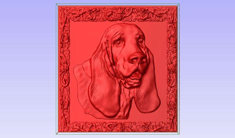 Bassett.jpg Download free STL file Basset Hound • 3D printing template, Account-Closed