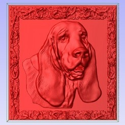 Imprimir en 3D gratis Basset Hound, Account-Closed