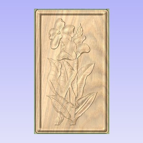 Free 3D printer files Flowering Plant, ungerk99