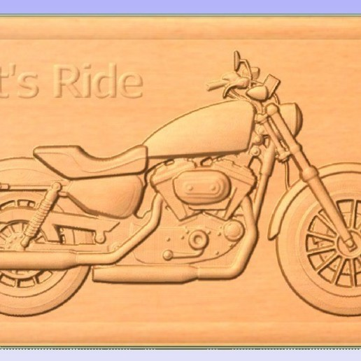 Ride.jpg Download free STL file Motorcycle • 3D printing object, Account-Closed