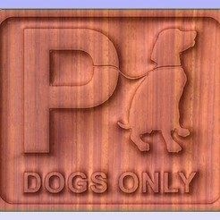 Dog.jpg Download free STL file Dogs Only • 3D printing design, Account-Closed