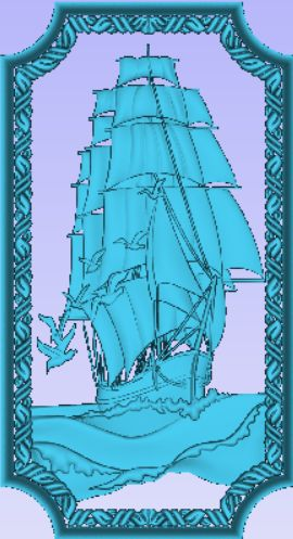 Ship1.jpg Download free STL file Sail Ship • Design to 3D print, Account-Closed